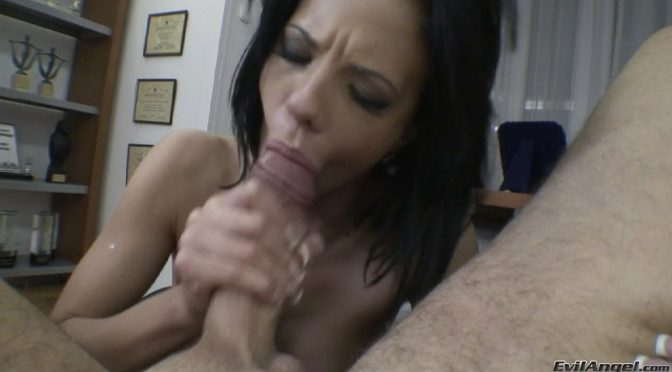 Tara White in  Evilangel Rocco's POV August 20, 2011  Blowjob, Big Dick