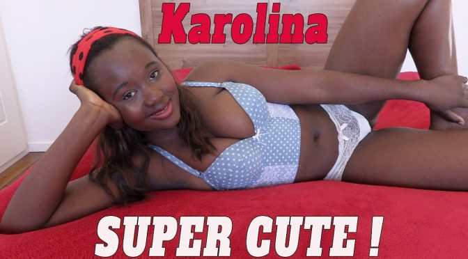 Karolina in  Girlsoutwest Karolina – Super Cute July 07, 2017  Exotic, Pussy Spreading