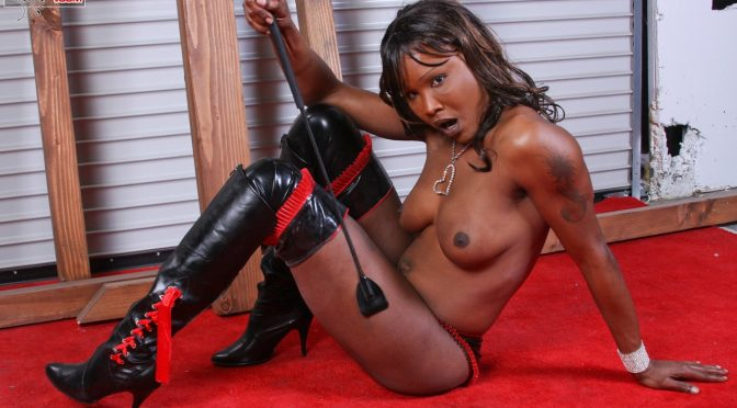 Krystal in  Transexdomination Krystal Blows A Load January 07, 2009  Transsexual