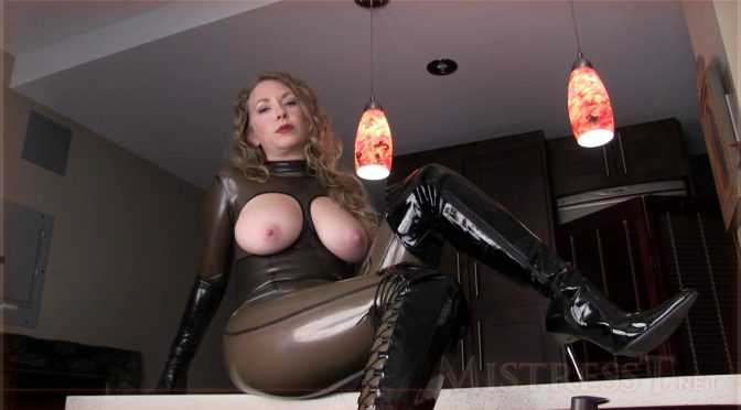 Mistresst Latex Addiction JOI December 03, 2015  Latex, Rubber Fetish