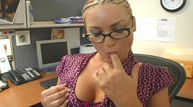 Flower Tucci in  Livenaughtysecretary Flower Tucci in Live Naughty Secretary July 28, 2009  Uniform