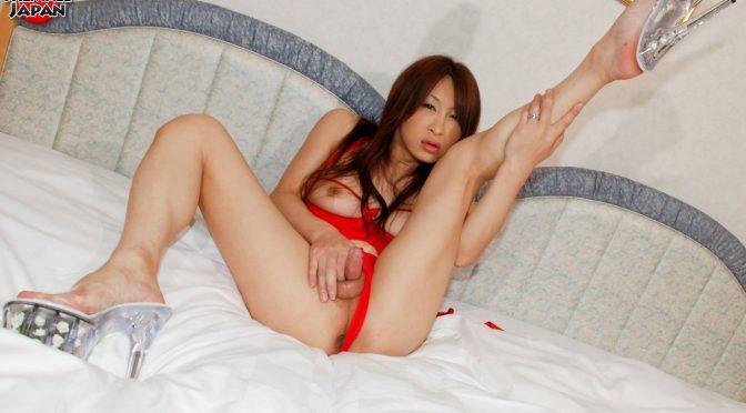 Nagisa Takahashi in  Tgirljapan Nagisa's Hot Sticky Cum September 08, 2009  Transsexual