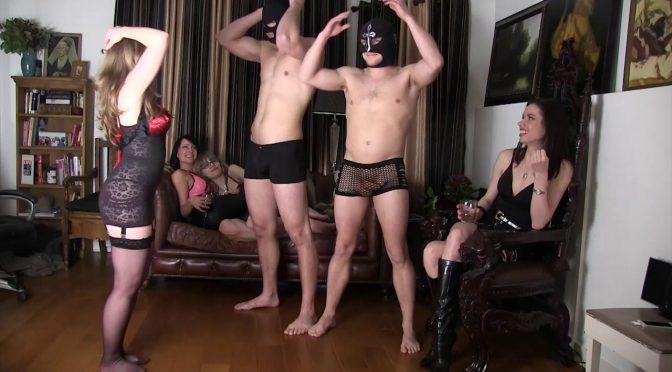 Mistresst Slave Games: Ballbusting June 10, 2014  Ball Busting, Kyaa