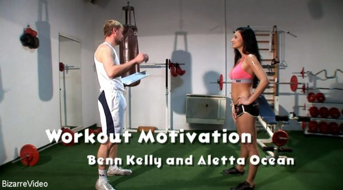 Bizarrevideo Workout Motivation: Benn Kelly, Aletta Ocean April 24, 2018  Straight, Athletic