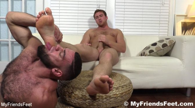 Connor Maguire in  Myfriendsfeet Connor Maguire's Socks & Feet Worshiped July 31, 2018  Shrimping, Foot Worship