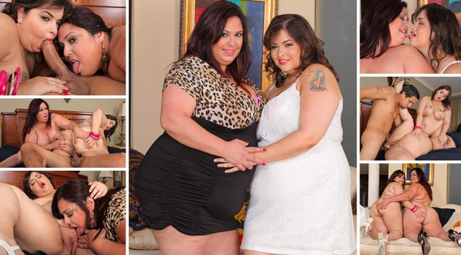 Rikki Waters in  Plumperpass Mommy Threesome June 06, 2014  Indoor, Oral