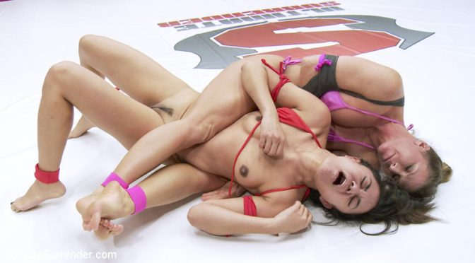Annie Cruz in  Ultimatesurrender Squirting Orgasms! Utter Erotic Wrestling Dominance February 12, 2016  Submission, Domination