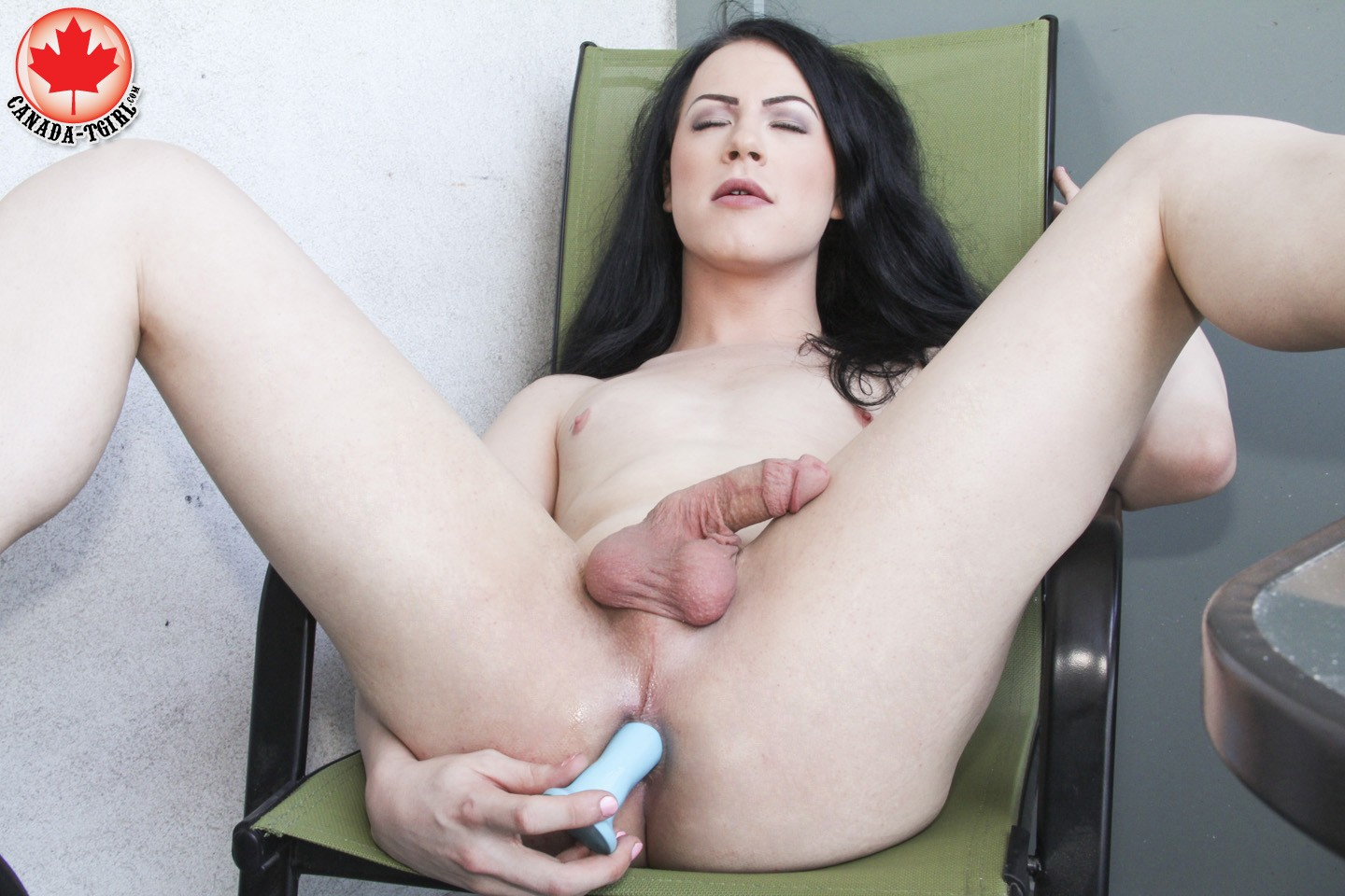 Blair Ryder in Canadatgirl Blair Ryder Plays Outside July 21, 2014  Transsexual | Coco Porn