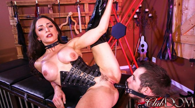 Cleo in  Clubdom 3 Minutes To Cum November 16, 2017  Electroshock, Chindo