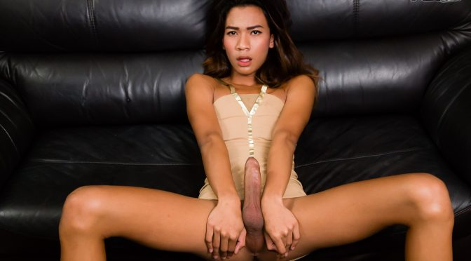 Nan in  Ladyboy Nan's A Hung Girl! September 16, 2016  Ladyboy