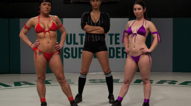 Mahina Zaltana in  Ultimatesurrender 12th vs 11th: 2 feisty rookies battle to see who moves forwardThe loser is brutally humilated June 17, 2011  Face Sitting, Strap On