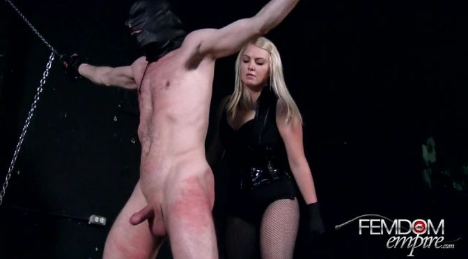 Lexi Sindel in  Femdomempire Punishment April 12, 2014  Ballbusting