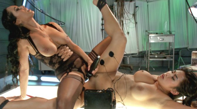 Isis Love in  Electrosluts Deep Electro Examination August 28, 2014  Slave, Pussy Eating