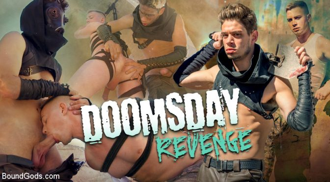 Michael DelRay in  Boundgods Doomsday Revenge: Survivor Exacts Revenge on Soldier November 01, 2018  Male Sub, Master