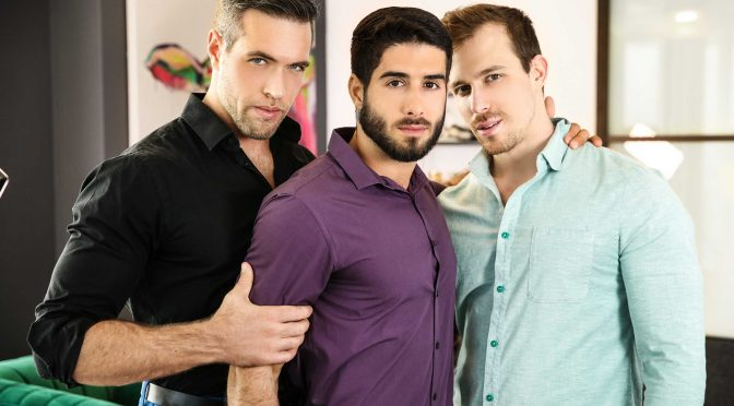 Alex Mecum in  Drillmyhole Couples Counseling Part 2 March 11, 2018  Gay Porn