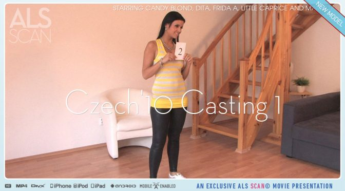 Candy Blond in  Alsscan Czech'10 Casting 1 August 24, 2010  Bts