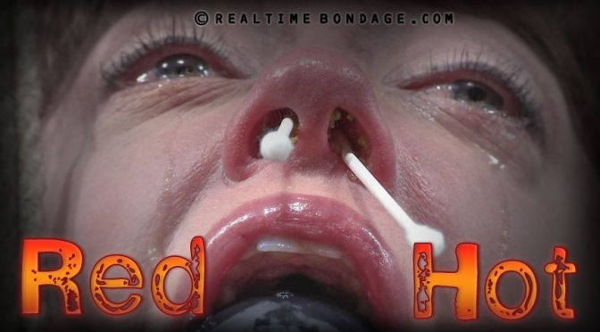 Dee Williams in  Realtimebondage Red Hot Part 1 March 26, 2016  Face Bondage, Breast Caning