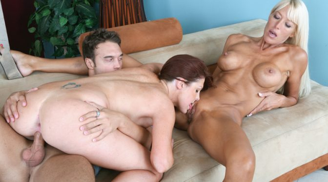 Bianca Noble in  Myfriendshotmom Bianca Noble & Shayne Ryder & Rocco Reed October 29, 2008  MILFs, Red Head