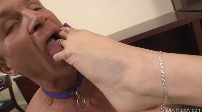 Layla Lopez in  Subbyhubby Cuckolding The Boss Part 4 January 12, 2013  Foot Worship