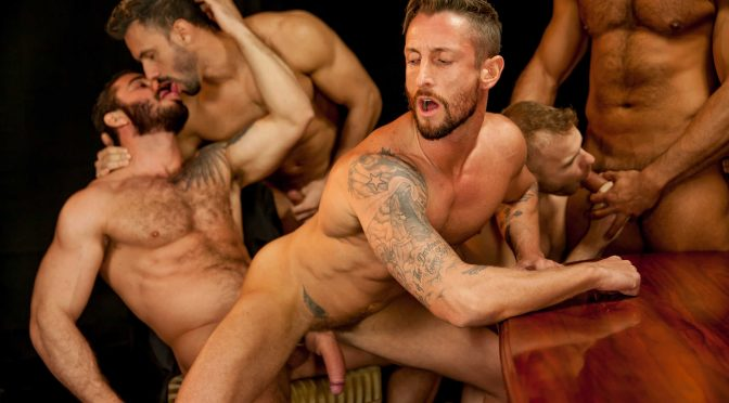 Denis Vega in  Jizzorgy Bottom Buffet April 05, 2015  Gay Porn