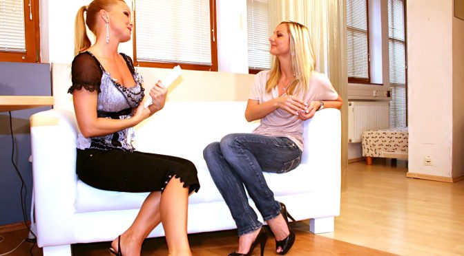 Silvia Saint in  Silviasaint Casting #08 Ambra, Scene #01 September 07, 2010  Straight Porn, Blonde