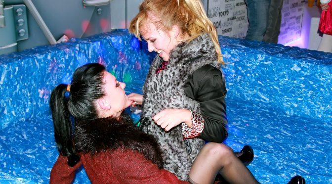 Jenna Lovely in  Swingingpornstars Holiday Hotties Part 1 – Shower Cam January 11, 2013  Party, Lesbian