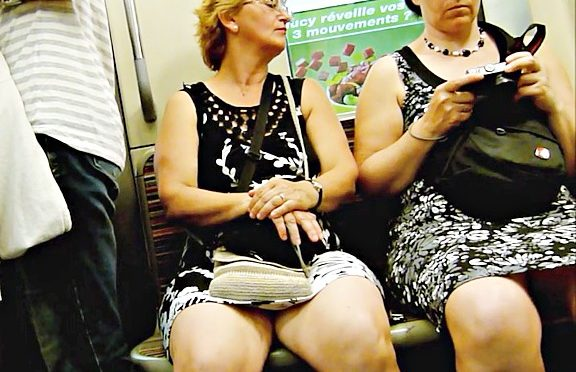 Upskirtcollection Chubby matures public transport upskirts August 29, 2013  Transport Upskirts