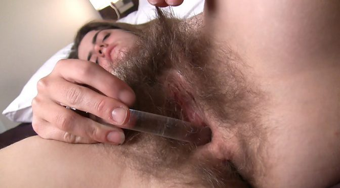 Aya in  Wearehairy Aya's fantasy and moaning orgasm January 28, 2011  Brunettes, Hairy Ass
