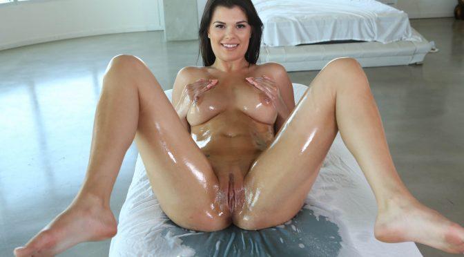 Gracie Dai in  Massagecreep Big Tit Brunette September 25, 2015  Oil
