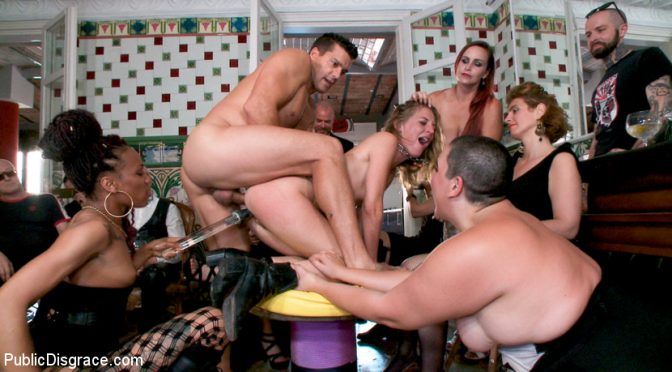 Ramon Nomar in  Publicdisgrace Fancy Party Interrupted To Tame The Feral Princess of Filth! November 12, 2018  Domination, Vaginal Penetration