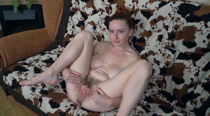 Elouisa in  Wearehairy Elouisa enjoys sexy times as she masturbates October 30, 2018  Masturbation, Redheads