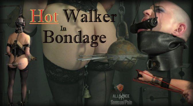 Abigail Dupree in  Sensualpain Hot Walker in Bondage April 05, 2017  Panty Gag, Struggling