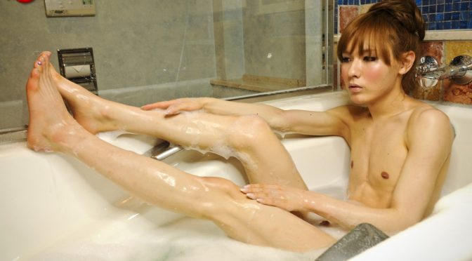 Lisa in  Tgirljapan Lisa Gets Hot And Wet October 23, 2012  Transsexual