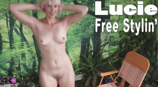 Lucie in  Girlsoutwest Lucie – Free Stylin January 05, 2018  Blonde, Tan Lines