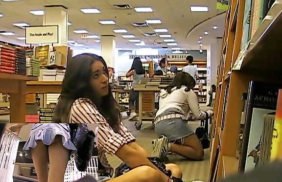 Upskirtcollection College girl library upskirt January 28, 2012  Girl Upskirts