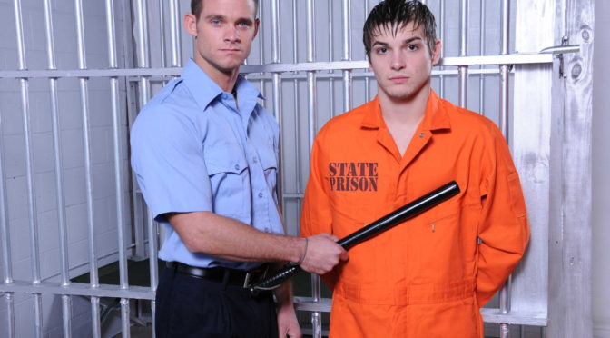 Cooper Reed in  Drillmyhole Prison Shower 4 February 28, 2013  Gay Porn