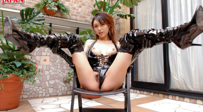 Emiru in  Tgirljapan Latex Doll Emiru! August 28, 2017  Transsexual