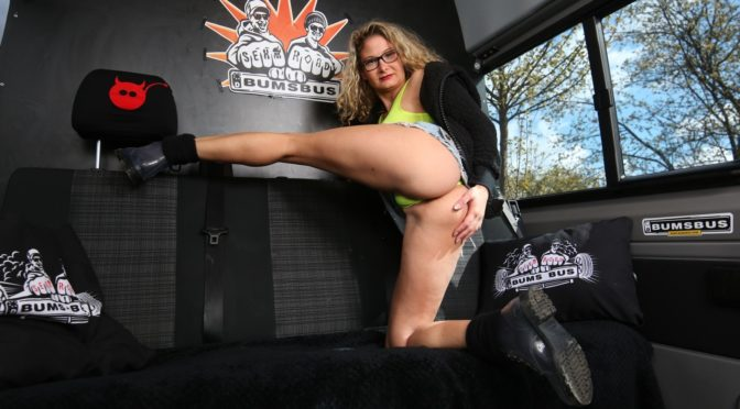 Jason Steel in  Bumsbus German blondie Izzy Mendosa gets picked up and fucked in the moving bus March 06, 2020  Missionary, Exhibitionist