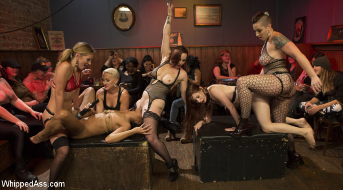 Mistress Kara in  Whippedass Dyke Bar LIVE!!! December 22, 2016  Lesbian, LezDom