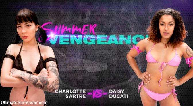 Charlotte Sartre in  Ultimatesurrender Charlotte Sartre vs Daisy Ducati June 27, 2018  Submission, Gaping