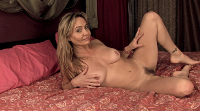 Sarah Michaels in  Wearehairy After dancing, Sarah Michaels gets naked in bed August 14, 2014  Striptease, Meaty Lips