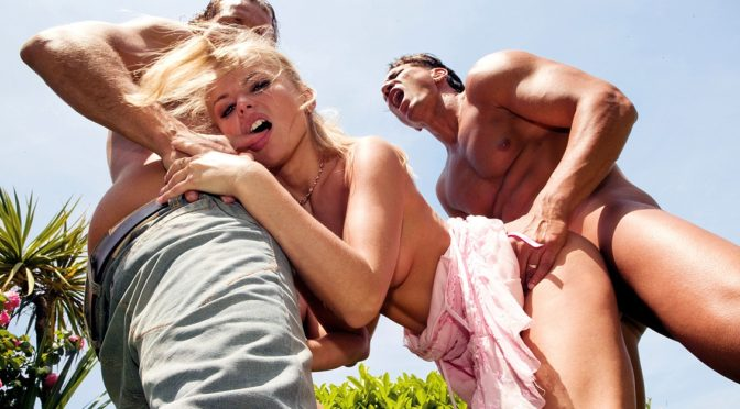 Dora Venter in  Private A Lovely Outdoor Party Is Interrupted by an Enormous Gangbang September 03, 2011  DP, Blowjob