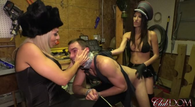 Dava Foxx in  Clubdom Russian Revenge Part 2 August 06, 2017  Pegging, Dildo Play