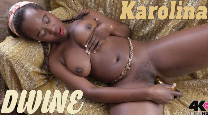 Karolina in  Girlsoutwest Karolina – Divine October 30, 2017  Big Boobs, Orgasm