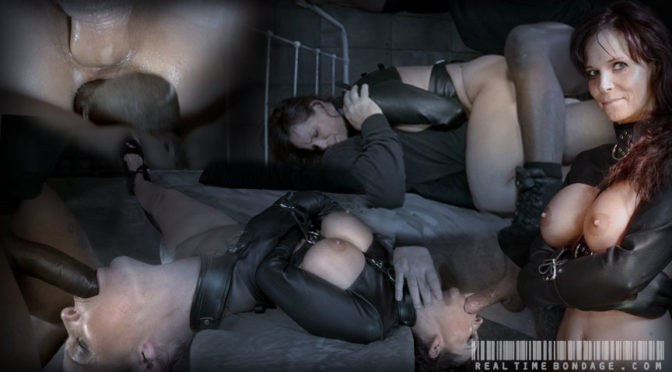 Syren De Mer in  Realtimebondage Brutal MILF DP on BBC as Syren De Mer is straight jacket fucked to utter sexual destruction! February 17, 2015  Big Dick, Brunette