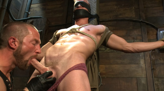 Adam Herst in  Boundgods Cock Slave October 25, 2012  Suspension, Dungeon