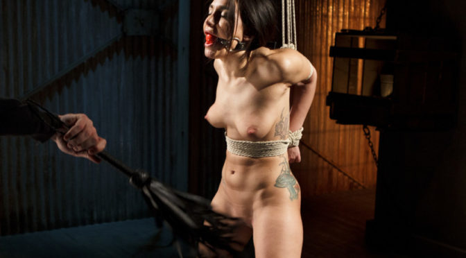 Gabriella Paltrova in  Sadisticrope Taking One for the Team January 14, 2015  Bondage, Handler
