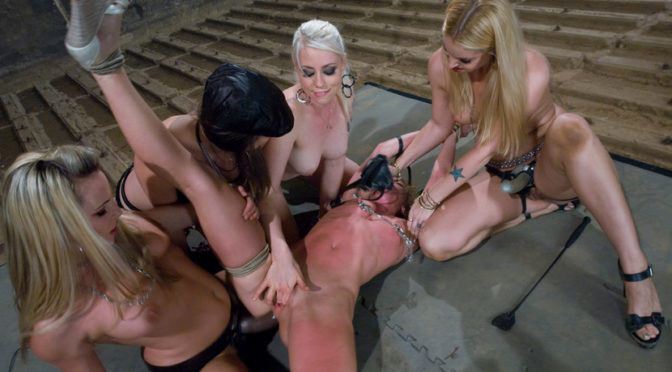 Harmony in  Whippedass Gang Initiation October 31, 2008  Bondage, Fingering