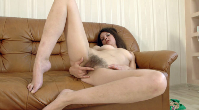 Farida in  Wearehairy Farida gets naked after ironing and is very hot November 23, 2014  Hairy Ass, Tattoo