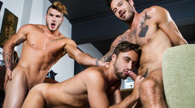 Dean Stuart in  Jizzorgy The Guys Next Door Part 4 September 22, 2017  Gay Porn